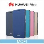 เคสหนังฝาพับ Huawei P9 Lite ยี่ห้อ MOFi Leather Slim