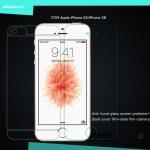 ฟิล์มกระจกนิรภัย (แถมฟิล์มด้านหลัง) iPhone 5S / 5Se ยี่ห้อ Nillkin Amazing H+