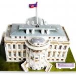 จิ๊กซอ 3 มิติ ทำเนียบขาว(The White House)(No.C060h)