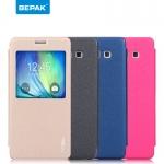 เคสหนังฝาพับ ตั้งได้ Samsung Galaxy A7 ยี่ห้อ BEPAK Standing Leather