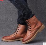 รองเท้าบูทผู้ชายแฟชั่น