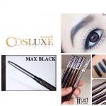 COSLUXE TRUST ME - Auto Pencil Eyeliner Water&Oil - Proof #Max Black สีดำเข้ม กันได้ทั้งเหงื่อ น้ำ และยังเหมาะกับคนหนังตามันอีกด้วย