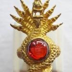 สินค้าหมดค่ะ แหวนพญานาค9เศียรประดับพลอยมณีใต้น้ำ(เพชรพญานาค)สีแดงเนื้อทองเหลือง เสริมอำนาจ คุ้มครองค่ะ