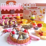 Mother Garden Strawberry Chocolate Party ชุดขนมเค้ก + Bakery + Ice cream เพียบเลยชุดนี้ชุดยอดนิยม สุดคุ้ม