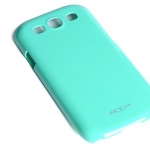 Rock Colorful Hard Case for Samsung Galaxy S3 (i9300) - GREEN