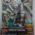 Animal Kaiser [Silver RARE] Foil Starburst Tarantula Ver.4 A-056