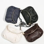 (Preorder พฤศจิกายน 57) MNG Double compartment cross body bag