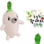 ตุ๊กตาหัวไซเท้าหรือตุ๊กตาหัวผักกาด  สินค้ายอดฮิตจากซีรี่ย์เกาหลีเรื่องดัง Rooftop Prince ขนาดเล็กสุด 32 CM