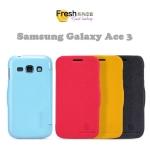 เคสหนังฝาพับ Galaxy Ace 3 - S7270 ยี่ห้อ Nillkin Leather Fresh
