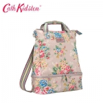 (Pre-order) Cath Kidston Women's Black Double Decker Backpack