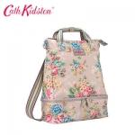 (Pre-order) Cath Kidston Women's Black Double Decker Backpack