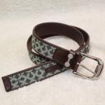 พร้อมส่งค่ะ Coach leather plaque belt