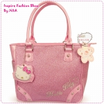 กระเป๋าสะพายข้าง Hello Kitty สีชมพู New Year new Hello Kitty shoulder bag / Hello Kitty handbag