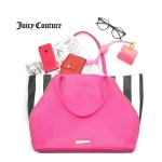 (Preorder ตุลาคม 57) Juicy Couture Cute Sweet patchwork Shopper Tote bag