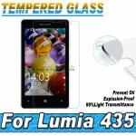 ฟิล์มกระจกนิรภัย Tempered Glass Film สำหรับ Microsoft Lumia 435