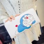 [Preorder] กระเป๋าสตางค์แบบยาว Doraemon (Kitty kitty change bag holding wild card Wallet)