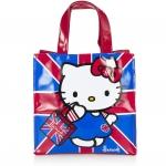 กระเป๋า Harrods ลาย Hello Kitty Shopper บนธงชาติอังกฤษ size S mini
