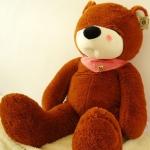 ตุ๊กตาหมีหลับ ตุ๊กตาตัวใหญ่ ขนาด 1.8 เมตร สีน้ำตาลเข้ม