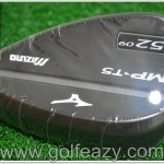 NEW MIZUNO MP-T5 BLACK ION WEDGES 52* DYNAMIC GOLD FLEX WEDGE
