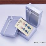 กล่องของขวัญสีเงิน แบบฝาทึบ