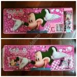 กล่องดินสอ 2 ชั้น ลายการ์ตูน Minnie Mouse