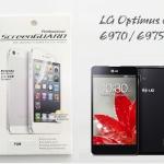 ฟิล์มใส LG Optimus G - E970 / E975 ยี่ห้อ Screen Guard
