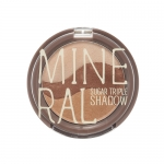 Skinfood Mineral Sugar Triple Shadow #1 Golden Brown