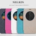 เคสหนังฝาพับ Samsung A9 Pro ยี่ห้อ Nillkin Sparkle Leather สำเนา