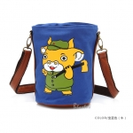 [Preorder] กระเป๋าสะพายข้างลายสัตว์ประจำปีนักษัตร ลายวัว (ปีฉลู) North bag 2013 Korean version of the original cartoon Zodiac constellation pattern leisure Shoulder Messenger bag