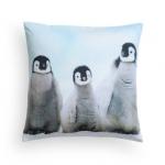 ♥♥พร้อมส่งค่ะ♥♥ H&M Canvas Cushion Cover  ปลอกหมอนลายนกเพนกวิ้นน่ารักๆ