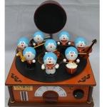 [Preorder] กล่องดนตรีมิวสิคโดเรม่อนเครื่องดนตรีเก๋ๆ A Dream / Viking electronic band music to children's music box birthday gift toy for Christmas