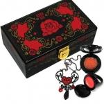 กล่องเครื่องประดับ Anna Sui Rouge Collection 2008 (ลายสีแดง)