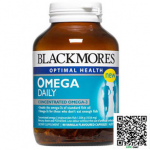Blackmores Omega Daily Odourless แบลคมอร์ส โอเมก้า เดลี บรรจุ 60 แคปซูล ราคาถูกสุดสุด