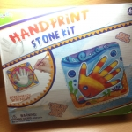 ชุดหล่อปูนระบายสีรูปมือHand Print Stone kit