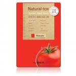 The Saem Natural-tox Tomato Mask Sheet มาส์กชีท ที่สกัดจากมะเขือเทศให้ผิวชุ่มชื่น กระชับเต่งตึง สำเนา