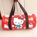 พร้อมส่งจ้า สีสวยน่ารักสุดๆ Sanrio Original Hello Kitty cylindrical travel bag