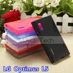 เคส TPU นิ่ม LG Optimus L5 [E610/E612] รุ่น TPU S-Curve