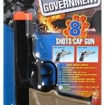 ปืนแก็ปเหล็ก Die-Cast Colt Government Cap Gun (BLACK) แถมลูกแก็ป 1ถุง