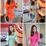 Linen Dress ตัวชุดใช้ผ้าลินินเกรดดีเนื้อผ้านุ่มความหนากำลังดีค่ะ