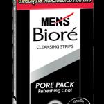 Biore Men's Pore Pack Black 10 แผ่น (สำหรับผู้ชาย)