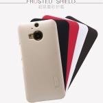 เคส HTC New One M8 - Nillkin Super Shield Shell มาพร้อมฟิลม์ค่ะ วัสดุทำจากพลาสติกคุณภาพดี มาตรฐานระดับhigh-end จับกระชับมือ เนื้อละเอียด + film สำเนา
