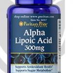 Puritan's Pride - Alpha Lipoic Acid 300 mg 60 Softgels สำเนา