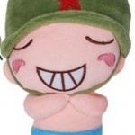 ตุ๊กตาพลทหารพราน ตัวเล็กน่ารักๆๆ  หน้ายิ้มเห็นเห็นฟัน หลับตา ตัวเล็กขนาด 23  CM