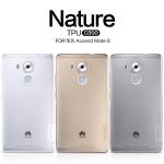 เคสยางนิ่ม บางเฉียบ Huawei Mate 8 ยี่ห้อ Nillkin รุ่น Nature TPU Case