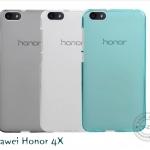เคสยางนิ่ม Huawei Honor 4X รุ่น Tpu Air Jacket (แถมฟิล์มกันรอย)