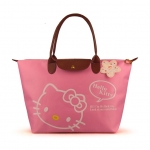 [Preorder] กระเป๋าถือแฟชั่น Hello Kitty สีชมพู Zhendian treasure waterproof bag swimming bag Hello Kitty cartoon fashion handbags shoulder bag shopping bag