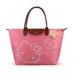 [Preorder] กระเป๋าถือแฟชั่น Hello Kitty สีชมพู Zhendian treasure waterproof bag swimming bag Hello Kitty cartoon fashion handbags shoulder bag shopping bag