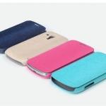 ซองหนัง Samsung ATIV S/SS i8750 - ซองหนัง Rock แท้ ฝาพับข้างเปิดปิดง่าย สีสวย หนังเงานุ่ม จับสบาย บางมาก จับกระชับ กันกระแทก สำเนา