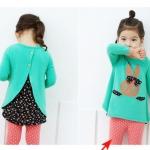 เสื้อผ้าเด็ก ชุดเสื้อกางเกงเด็ก ไซด์ 100-110-120-130-140