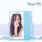เคสยางนิ่ม Oppo R5 - R8106 รุ่น Tpu Air Jacket (แถมฟิล์มกันรอย)